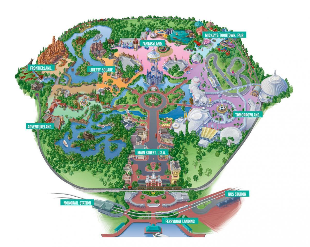magic kingdom and disney world