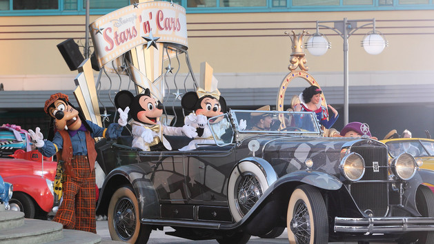 Disney's Star'n'Cars: Meet your favourite Disney characters